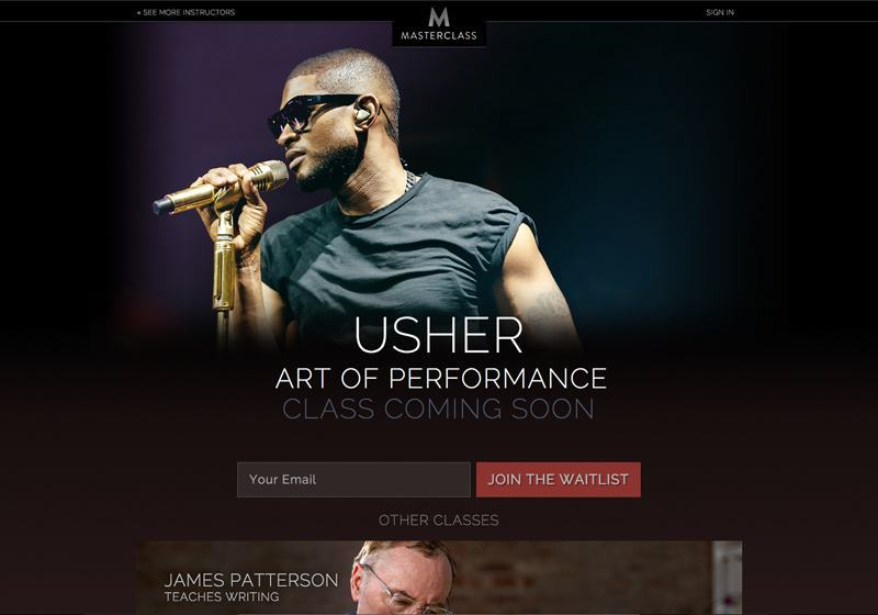 Usher's Course Coming Soon