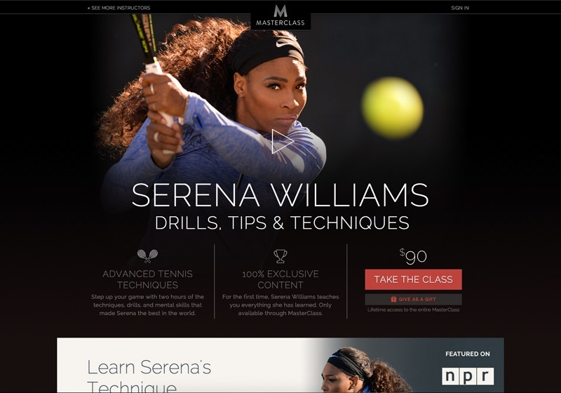 Serena Williams' Drills, Tips & Techniques